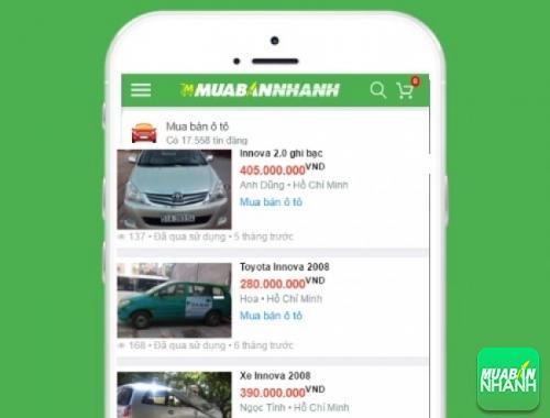 Giá các dòng xe Toyota Innova J trên mạng xã hội MuaBanNhanh