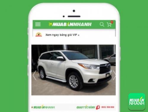 Xe ôtô Toyota Highlander - sản phẩm đang bán trên mạng xã hội MuaBanNhanh