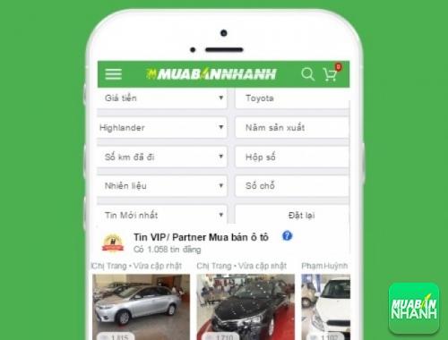 Tìm mua xe Toyota Highlander hiệu quả trên Mạng xã hội MuaBanNhanh