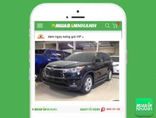 Xe ôtô Toyota Highlander 3.5 LE Limited - sản phẩm đang bán trên mạng xã hội MuaBanNhanh