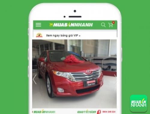 Xe ôtô Toyota Venza - sản phẩm đang bán trên mạng xã hội MuaBanNhanh