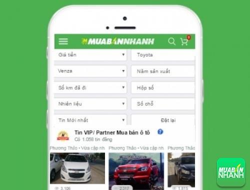 Tìm mua xe Toyota Venza hiệu quả trên Mạng xã hội MuaBanNhanh