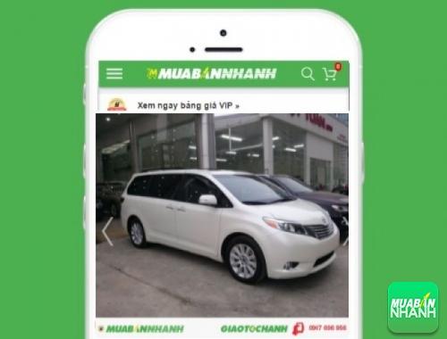 Xe ôtô Toyota Sienta - sản phẩm đang bán trên mạng xã hội MuaBanNhanh
