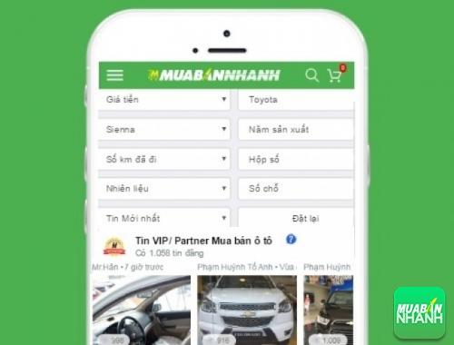 Tìm mua xe Toyota Sienta hiệu quả trên Mạng xã hội MuaBanNhanh