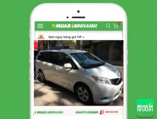 Xe ôtô Toyota Sienta SE - sản phẩm đang bán trên mạng xã hội MuaBanNhanh