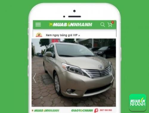 Xe ôtô Toyota Sienta XLE - sản phẩm đang bán trên mạng xã hội MuaBanNhanh