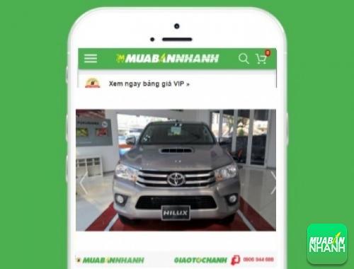 Xe ôtô Toyota Hilux - sản phẩm đang bán trên mạng xã hội MuaBanNhanh