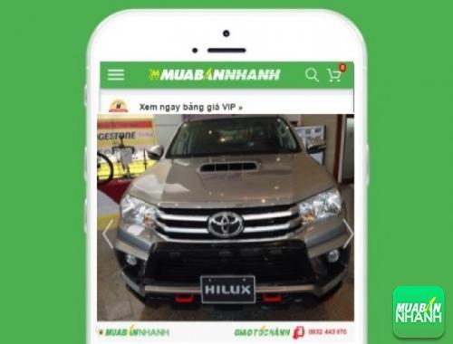 Xe ôtô Toyota Hilux 3.0 G MT - sản phẩm đang bán trên mạng xã hội MuaBanNhanh