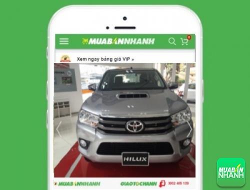 Xe ôtô Toyota Hilux 2.5E số sàn 4x2 MT - sản phẩm đang bán trên mạng xã hội MuaBanNhanh