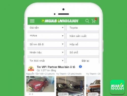 Tìm mua xe Toyota Hiace hiệu quả trên Mạng xã hội MuaBanNhanh