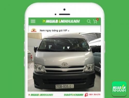 Xe ôtô Toyota Hiace động cơ Diesel (máy dầu) - sản phẩm đang bán trên mạng xã hội MuaBanNhanh