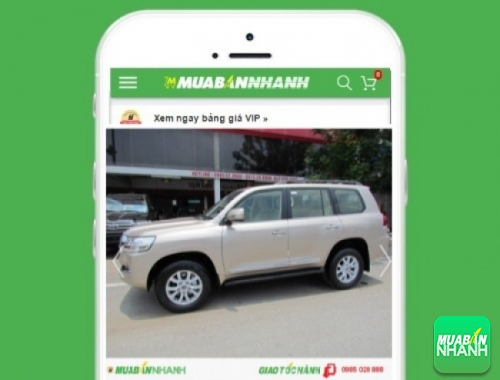 Xe ôtô Toyota Land Cruiser - sản phẩm đang bán trên mạng xã hội MuaBanNhanh