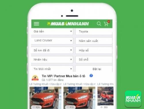 Tìm mua xe Toyota Land Cruiser hiệu quả trên Mạng xã hội MuaBanNhanh