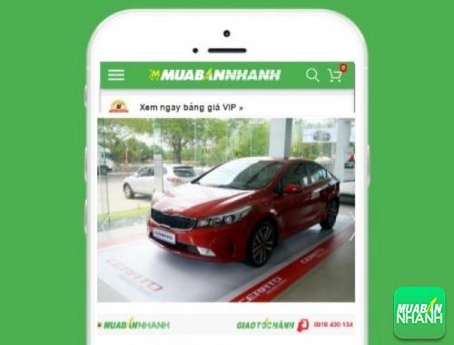 Xe ôtô Kia - sản phẩm đang bán trên mạng xã hội MuaBanNhanh