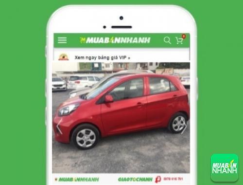 Xe ôtô Kia Morning - sản phẩm đang bán trên mạng xã hội MuaBanNhanh