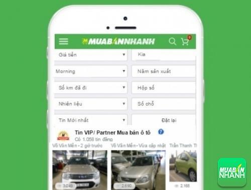 Tìm mua xe Kia Morning hiệu quả trên Mạng xã hội MuaBanNhanh