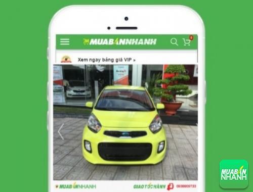 Xe ôtô Kia Morning 1.0 AT - sản phẩm đang bán trên mạng xã hội MuaBanNhanh