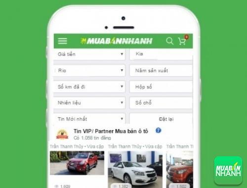 Tìm mua xe Kia Rio hiệu quả trên Mạng xã hội MuaBanNhanh