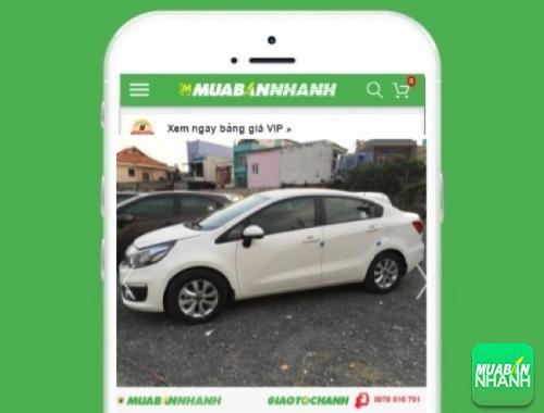 Xe ôtô Kia Rio 1.4L sedan (4D AT) - sản phẩm đang bán trên mạng xã hội MuaBanNhanh
