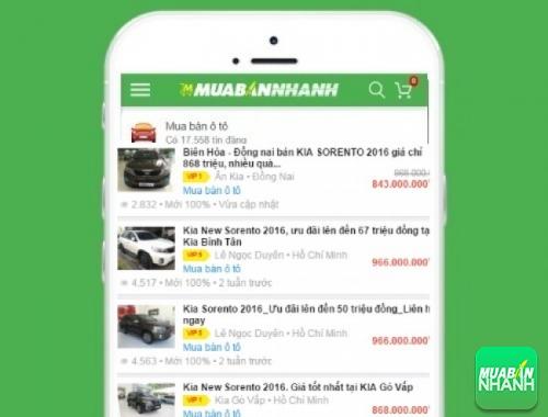 Giá các phiên bản xe Kia Sorento trên mạng xã hội MuaBanNhanh