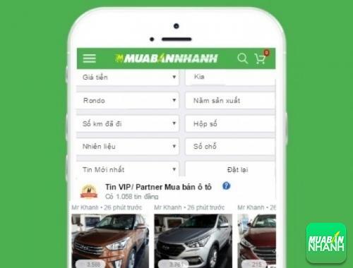Tìm mua xe Kia Rondo hiệu quả trên Mạng xã hội MuaBanNhanh