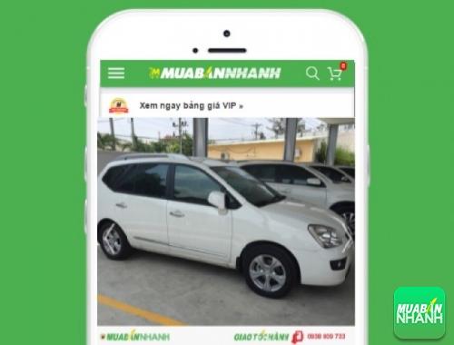 Xe ôtô Kia Carens - sản phẩm đang bán trên mạng xã hội MuaBanNhanh