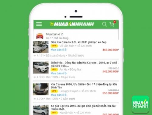 Giá các phiên bản xe Kia Carens trên mạng xã hội MuaBanNhanh