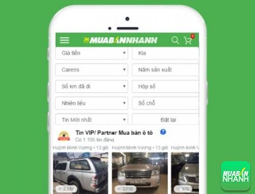 Tìm mua xe Kia Carens hiệu quả trên Mạng xã hội MuaBanNhanh