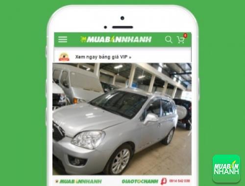 Xe ôtô Kia Carens 2.0 EX MT - sản phẩm đang bán trên mạng xã hội MuaBanNhanh