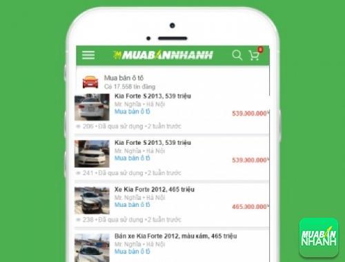 Giá các phiên bản xe Kia Forte trên mạng xã hội MuaBanNhanh