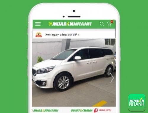 Xe ôtô Kia Sedona - sản phẩm đang bán trên mạng xã hội MuaBanNhanh