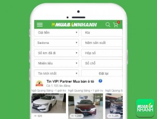 Tìm mua xe Kia Sedona hiệu quả trên Mạng xã hội MuaBanNhanh