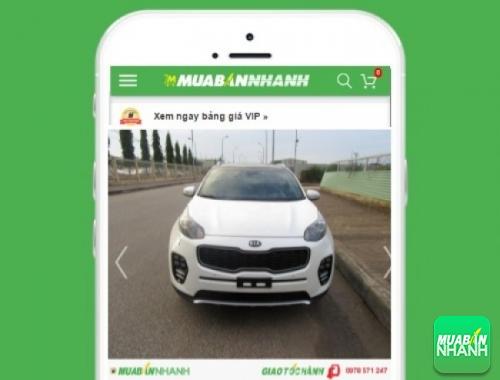 Xe ôtô Kia Sportage - sản phẩm đang bán trên mạng xã hội MuaBanNhanh
