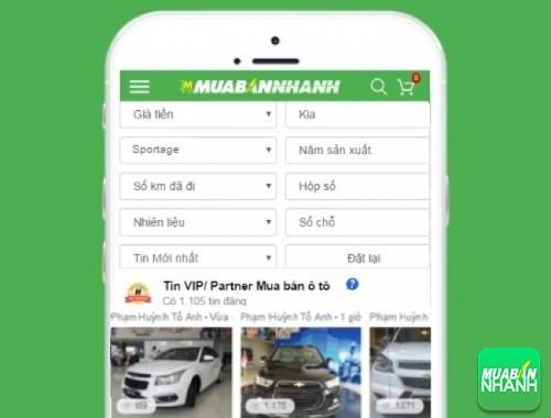 Giá các phiên bản xe Kia Sportage trên mạng xã hội MuaBanNhanh