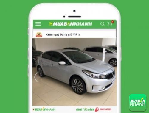 Xe ôtô Kia Cerato 2.0 AT - sản phẩm đang bán trên mạng xã hội MuaBanNhanh