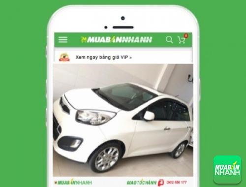 Xe ôtô Kia Picanto - sản phẩm đang bán trên mạng xã hội MuaBanNhanh