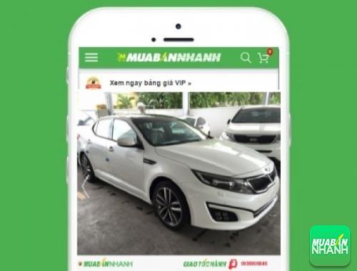 Xe ôtô Kia Optima - sản phẩm đang bán trên mạng xã hội MuaBanNhanh
