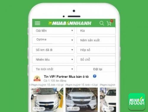 Tìm mua xe Kia Optima hiệu quả trên Mạng xã hội MuaBanNhanh
