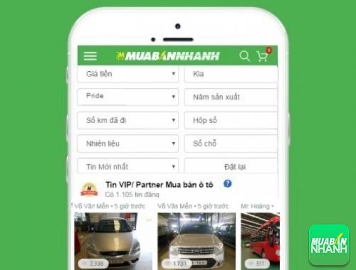 Tìm mua xe Kia Pride hiệu quả trên Mạng xã hội MuaBanNhanh