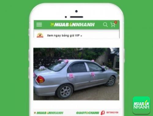 Xe ôtô Kia Spectra - sản phẩm đang bán trên mạng xã hội MuaBanNhanh