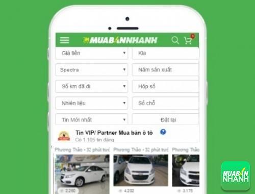 Tìm mua xe Kia Spectra hiệu quả trên Mạng xã hội MuaBanNhanh