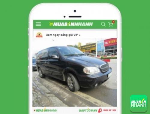 Xe ôtô Kia Carnival - sản phẩm đang bán trên mạng xã hội MuaBanNhanh