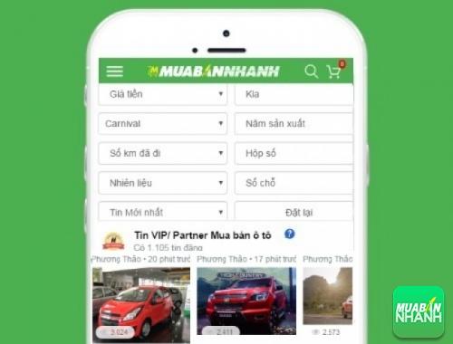 Tìm mua xe Kia Carnival hiệu quả trên Mạng xã hội MuaBanNhanh
