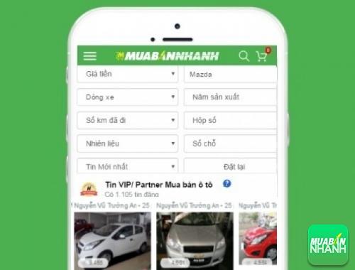 Tìm mua xe Mazda hiệu quả trên Mạng xã hội MuaBanNhanh
