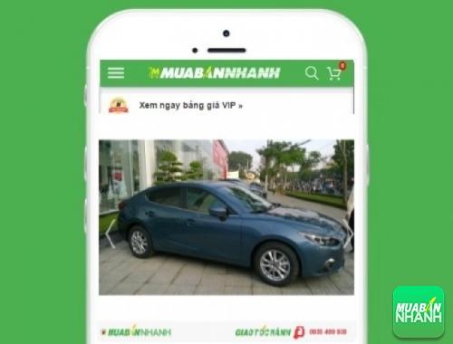 Xe ôtô Mazda  3 - sản phẩm đang bán trên mạng xã hội MuaBanNhanh