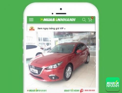 Xe ôtô Mazda 3 1.5L hatchback - sản phẩm đang bán trên mạng xã hội MuaBanNhanh