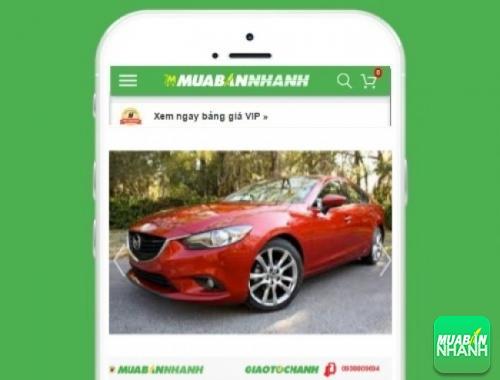Xe ôtô Mazda 6 - sản phẩm đang bán trên mạng xã hội MuaBanNhanh