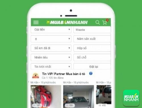 Tìm mua xe Mazda 6 hiệu quả trên Mạng xã hội MuaBanNhanh
