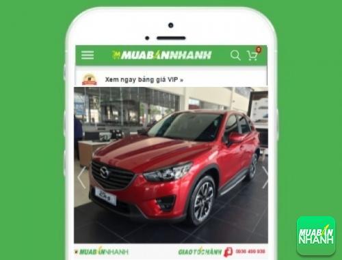 Xe ôtô Mazda CX-5 - sản phẩm đang bán trên mạng xã hội MuaBanNhanh