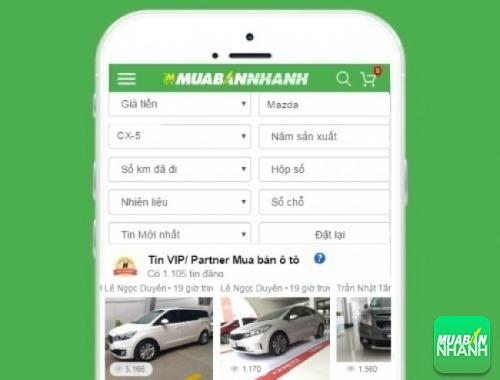 Tìm mua xe Mazda CX-5 hiệu quả trên Mạng xã hội MuaBanNhanh